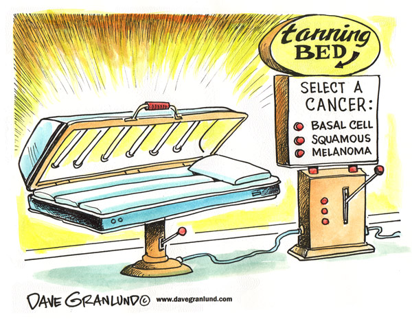 tanning beds and cancer The world health organization's international agency for research on cancer ( iarc) classifies tanning beds and tanning lamps into its highest cancer risk.