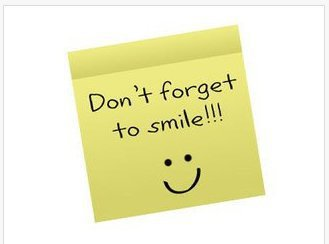 Don t forget to smile
