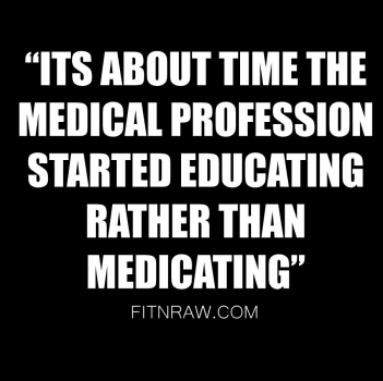 Educate patients, not medicate them