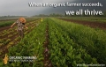 Support organic farmers