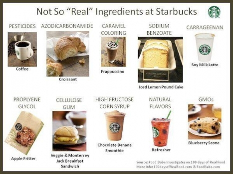 Fast food ingredients--say no to gmo