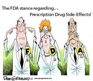 FDA's stance on side effects of drugs
