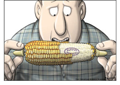 Monsanto wants to patent your food