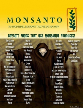 Boycott foods that use Monsanto?