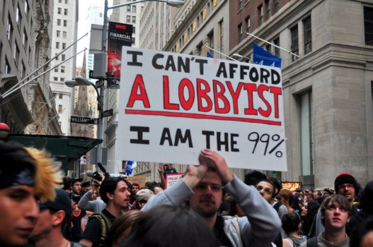 Occupy Wall Street--Lobbyists Are The Problem