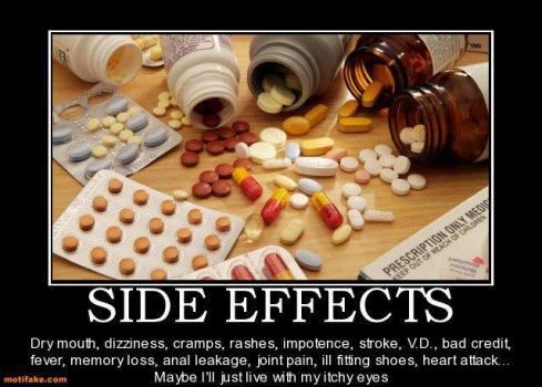 Side effects of antidepressants worse than depression