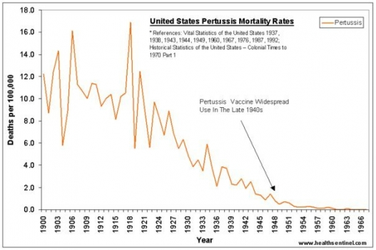 Vaccination doesn't work--pertussis